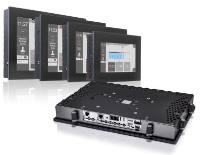 The Power Panel C80 combines the advantages of a powerful controller and a modern operator terminal in a single HMI device