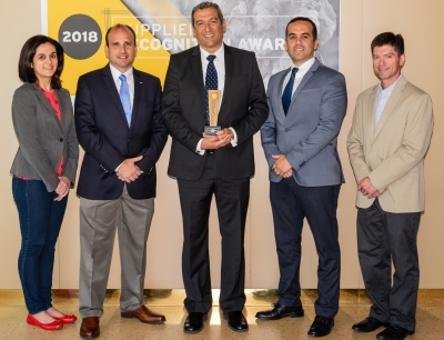 Crown wins Supplier of the Year award for the second time in three years