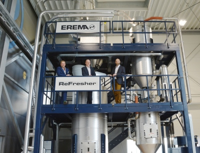 Boom in demand for recycling systems featuring Erema Re-Fresher technology