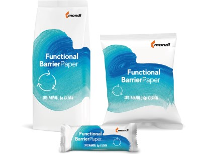 Functional Barrier Paper substituting plastic packaging