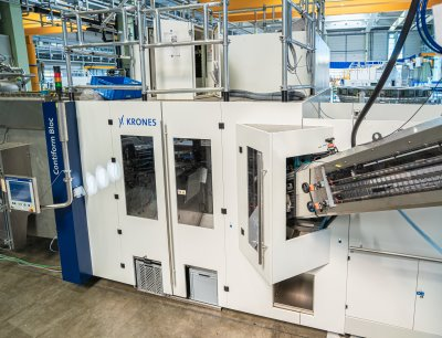 The Contiform 3 Big Bottle is suitable for container volumes of up to eight litres, thus closing a gap in the group's product portfolio