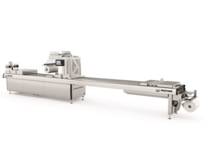 The F 286 is constructed in the Multivac Hygienic Design, and it offers easy access for cleaning and maintenance