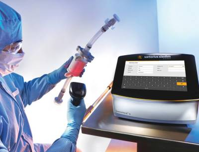 The advanced filter tester Sartocheck 5 Plus