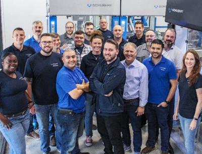 Schubert North America's service team has grown twice the size within the past two years