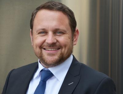 Dietmar Dieing (45), Sesotec Vice President Sales Plast