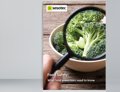 """The new ebook from Sesotec, """"Food Safety - What Food Processors Need to Know,"""" is filled with valuable information for food industry businesses"""