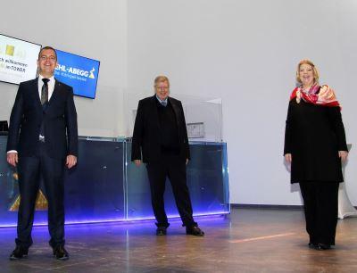 The shareholders of Ziehl-Abegg (starting left): Dennis Ziehl, Uwe Ziehl and Sindia Ziehl