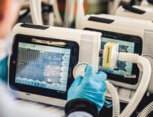 Soft and resilient: USB socket protection on Osiris respiratory device from Air Liquide Medical Systems