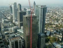 Master X-Seed technology was successfully applied for the construction of the Marienturm, an office tower under construction in Frankfurt/Main