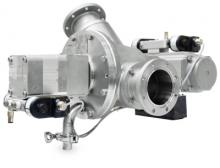 Coperion's optimized stainless steel WYK diverter valve for CIP applications is a match for even the most stringent hygiene and purity demands