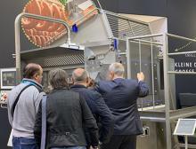 Food processing machine at IFFA tradeshow 2019