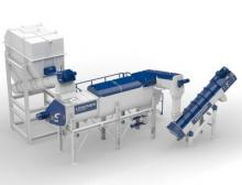 The new Linder Washtech hot-wash system cleans effectively in three stages and guarantees continuous output