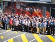 Dupont inaugurates new Thermo-Man burn test unit - at their European Technical Center and takes end-users on a unique Dupont journey