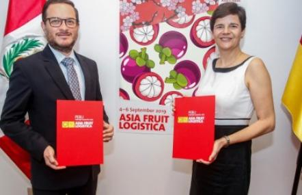 Peru is the first-ever partner country at Asia Fruit Logistica